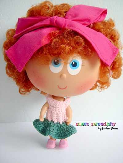 Chamoy Doll Crocheted Dress #distroller