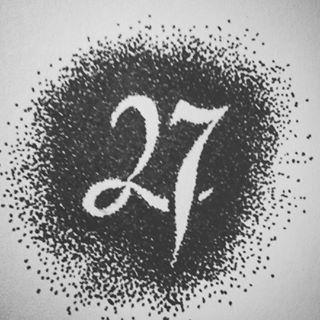 27 on 27 . . #27 #duapuluhtujuh #pitulikur #twentyseven #typography #sketch #sketching #draw #drawing #handdrawing #freehand #pointless #pointillism #dotted #drawingpen #monochrome #art #artwork #myfreehandArt #AAI