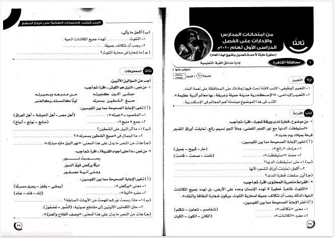 نماذج امتحانات اللغة العربية الصف الرابع الترم الاول2021 من كتاب الاضواء مجموعة من اهم اختبارات اللغة العربية للصف الرابع ترم اول2021 Bullet Journal Journal