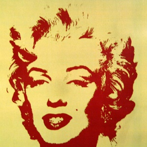 Andy Warhol silk screen pic of Marilyn Monroe fab.com $675.00