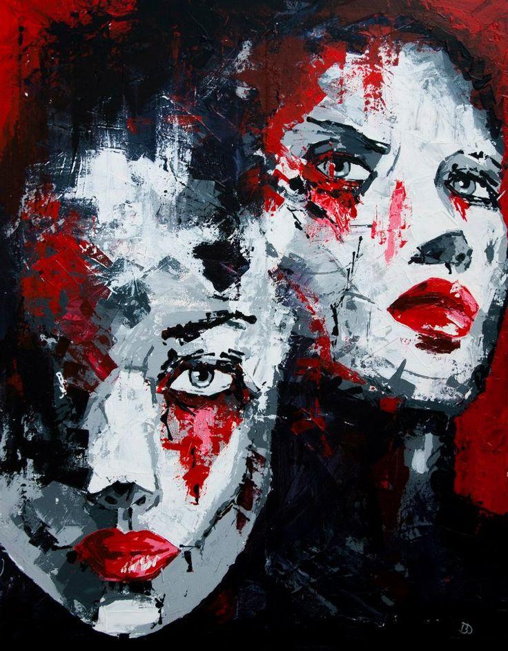 (Close II) Passers - Acrylic on canvas (60 x 80cm)