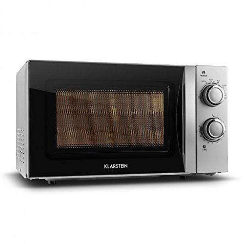 Klarstein myWave: Le Klarstein myWave est un micro-onde qui s'adapte parfaitement aux exigences des cuisines des petits foyers ou chambres…