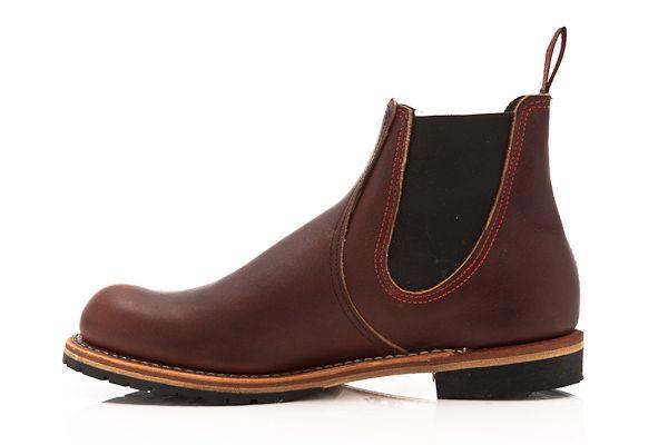 Red Wing Shoes Chelsea Rancher 2917 Brown skor – Skor online - Lester Skor Online