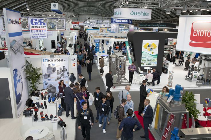 Overview Aquatech Amsterdam