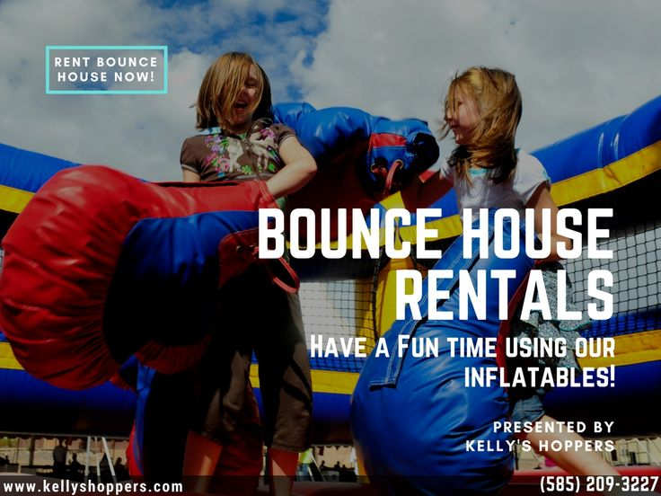 Kelly's Hoppers is premier choice for bounce house rental in Rochester, NY. We have wide range of inflatable bounce houses available for rent at affordable rates. #BounceHouseRentals,#SlideJumperRentals,#PrincessJumperRental