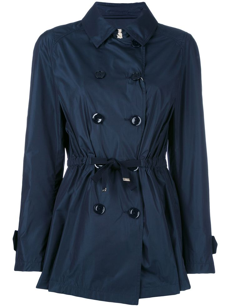 ¡Cómpralo ya!. Herno - Belted Water Resistant Trench - Women - Cotton/Polyester/Acetate - 44. Blue cotton blend belted water resistant trench from Herno. Size: 44. Gender: Female. Material: Cotton/Polyester/Acetate. , trench, trenchlargo, trenca, trencas, trenkas, trenchconcinturón, estilochal, estilochaldeantelina, cascada, funcional, trenka, trenchcoat, trenchcoat, gabardina, trench, trench, trench. Trench  de mujer color azul marino de HERNO.
