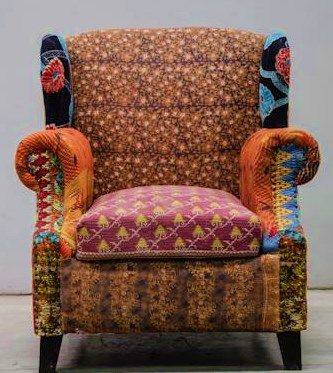 Delightful Cute And Funky Boho Chair Makeover :D