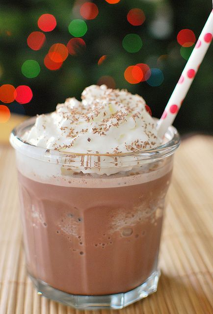 Frozen Hot Chocolate.... I really want to try this