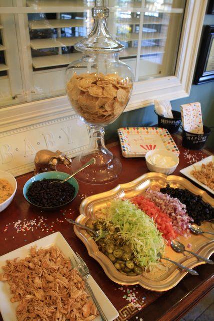 Nacho Bar for Christmas dinner???  Sounds good!