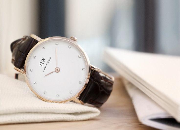 Classic Leather Watch | Daniel Wellington