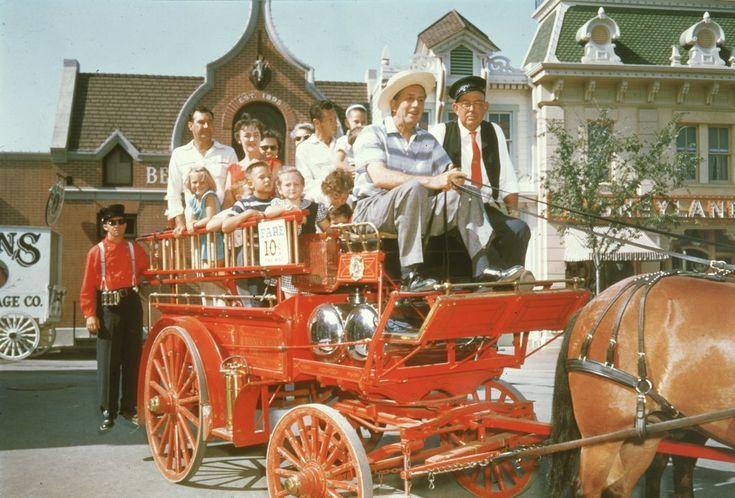 Walt Disney himself took the reins and showed guests around Main Street.