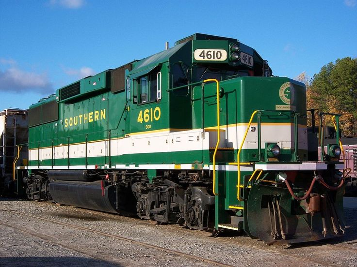 Western Pacific Railroad Green Paint Scheme