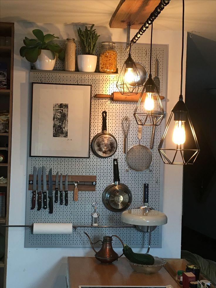 22 best Lochwand Küche images on Pinterest Ad home, Desks and - lampen für die küche