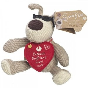 "Boofle Valentines Gift 5"" Boofle Plush Toy - Bestest Boyfriend Ever"