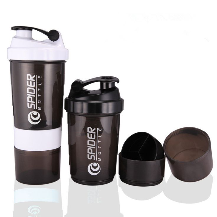 Hot New Protein powder shaker bottle fitness Mixer Sports Fitness gym 3 Layers special whey protein shaker milk shaker #Affiliate