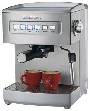 Cuisinart Programmable Espresso Maker contemporary-coffee-makers-and-tea-kettles