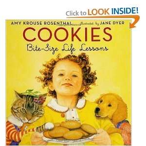 {Cookies: Bite-Size Life Lessons by  Amy Krouse Rosenthal}  Wonderful book! $8 on Amazon