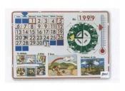 Reloj calendario magnético 94078 OSG