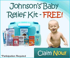 FREE Johnson Baby Relief Kit!
