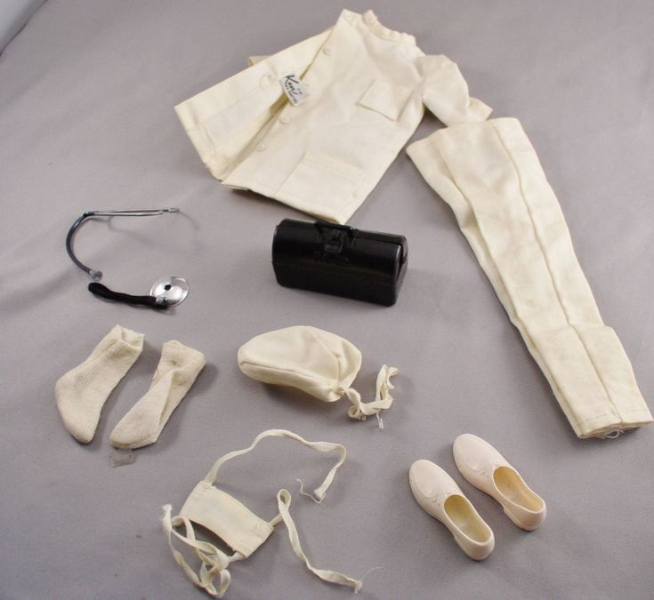 Vintage Barbie Ken No.793 DOCTOR KEN Outfit, made from 1963 to 1964 - Vintage Barbie Doll by SMNtoys on Etsy