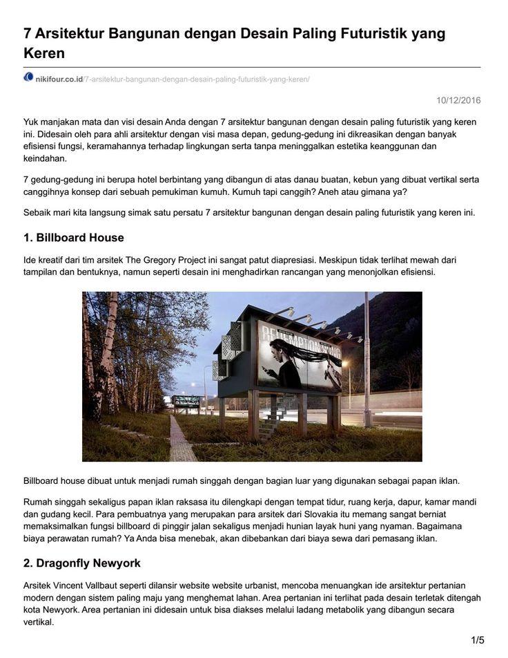 Nikifour co id 7 arsitektur bangunan dengan desain paling futuristik yang keren