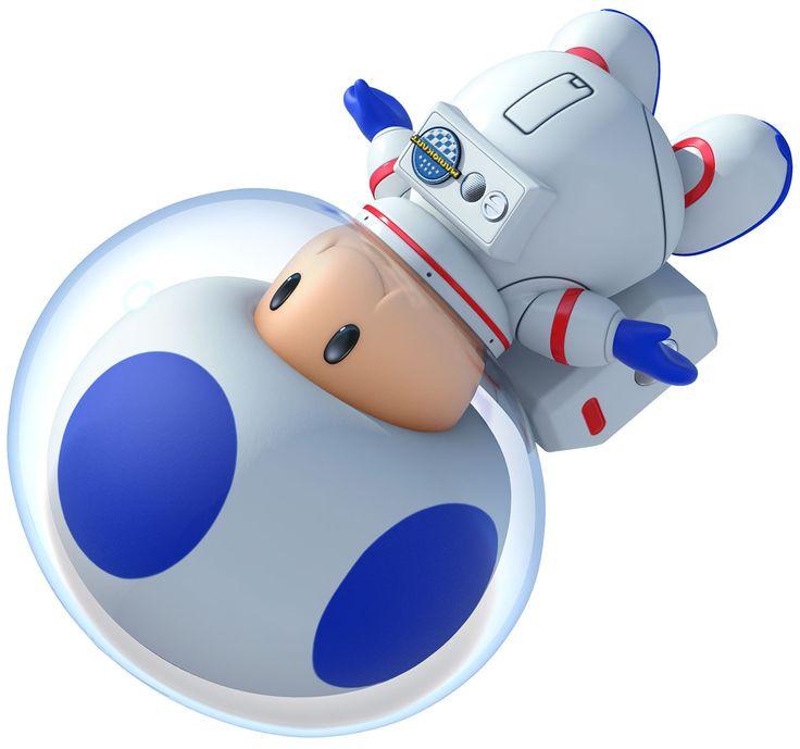 Blue Toad | Mario Kart 8