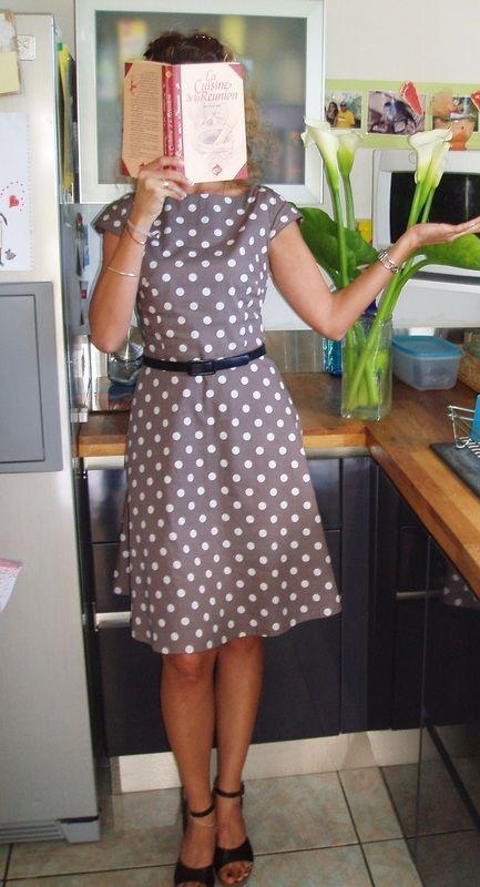 Kleid - Retro-Stil