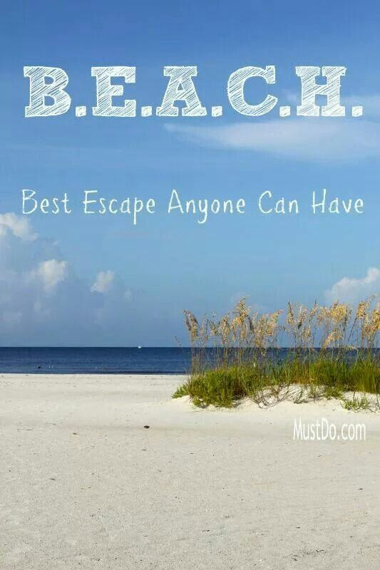 Beach quote, this is so true. We should all have more beach time x