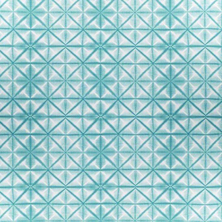 Warwick Fabrics : AZUMI, Colour AQUAMARINE
