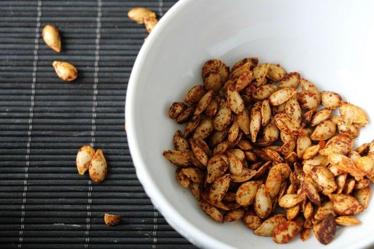 Food: Geroosterde pompoenpitten