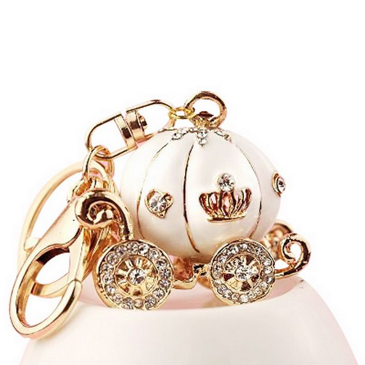 Cheap charm bracelet charms silver, Buy Quality ring life directly from China ring pop Suppliers:     1 Pcs Cute Big White Princess Pumpkin Carriage Crystal Charm Keychain Key Ring Hot Selling