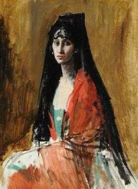 Augustus Edwin John - Señora Gandarillas