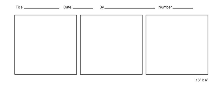 Free Comic Strip Templates