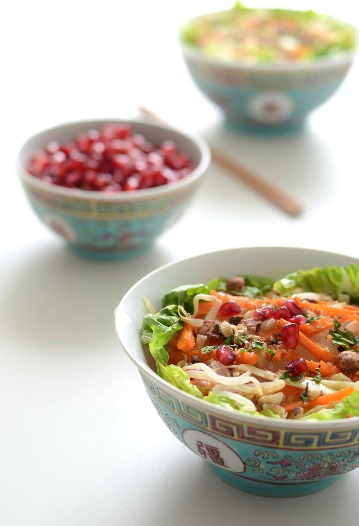 Mes ptits plats dans les grands*: { Jeudi Veggie : Petite salade détox, un brin asiatique }