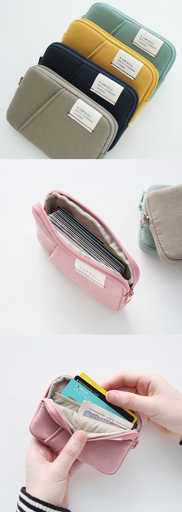 A Low Hill Pocket Card Case