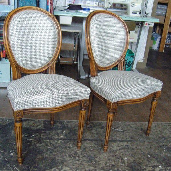 Du chic et du rétro vous propose la réfection de vos fauteuils en technique traditionnelle ou