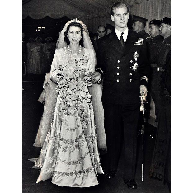 Queen Elizabeth Wedding Dress 1947: 258 Best Images About Celebrity & Royal Weddings On