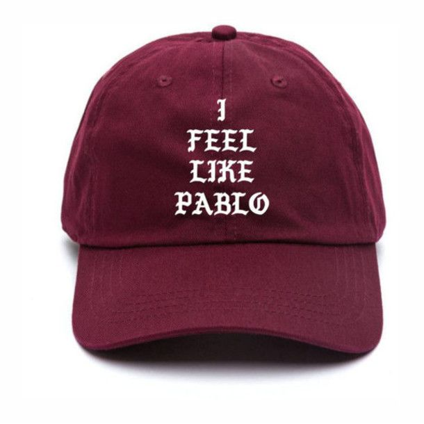 hat pablo cap i feel like pablo pablo kanye west cap cape baseball cap mens cap