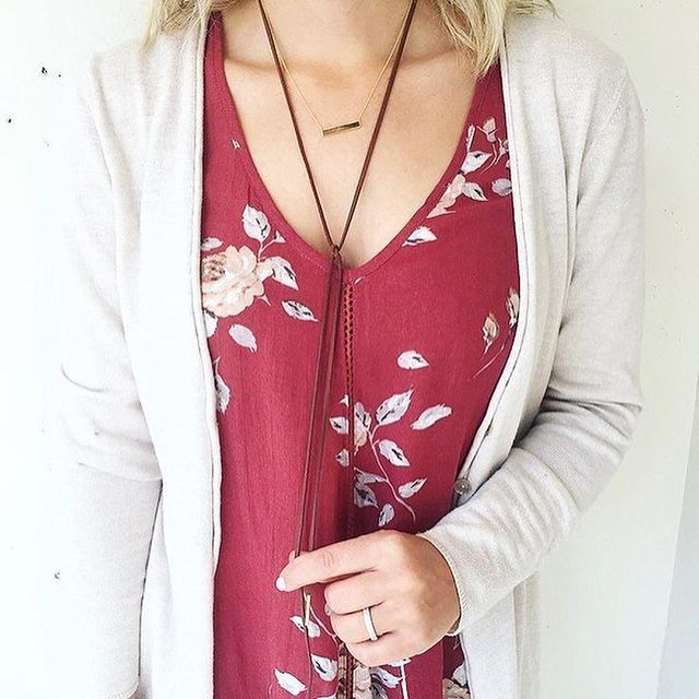 One of our #Fall favorites - the #Sublime tank #ootd #wiw #styleinspo #lookbook #thatsdarling