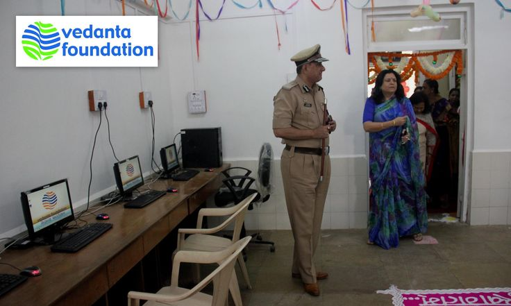 Vedanta Foundation, the fully funded charitable trust of Vedanta Resources Plc with a heart for social development will offer basic computer coaching classes and vocational programs like tailoring and beautician to the Children, spouse, relatives of police families in Mumbai.  In this venture Vedanta Foundation will be providing computers, trainers, exam organization, certification whereas the local police personnel's would be assisting in mobilizing students from police colonies.
