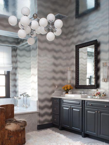 78 Best Black Amp White Bathroom Images On Pinterest