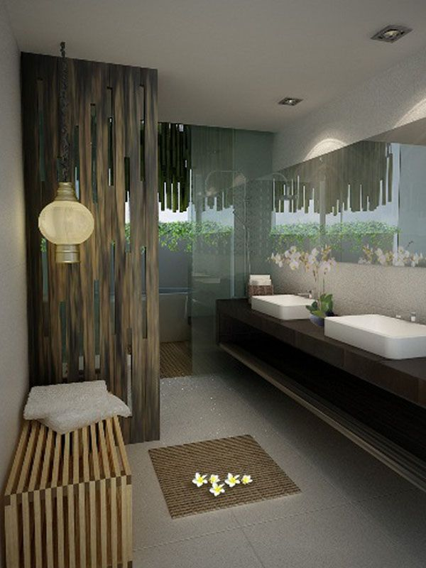 Villas Bathroom | The Akmani Legian | Legian - Bali, Indonesia