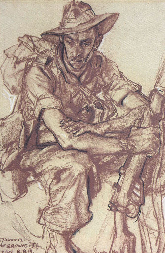 Another of Ivor Hele's drawings