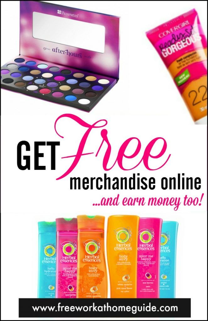 Do you love free stuff? Then you can become a product tester for various brands and get free merchandise from them.