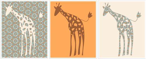 Celebraciones Caseras: láminas habitación infantil - imprimible gratis