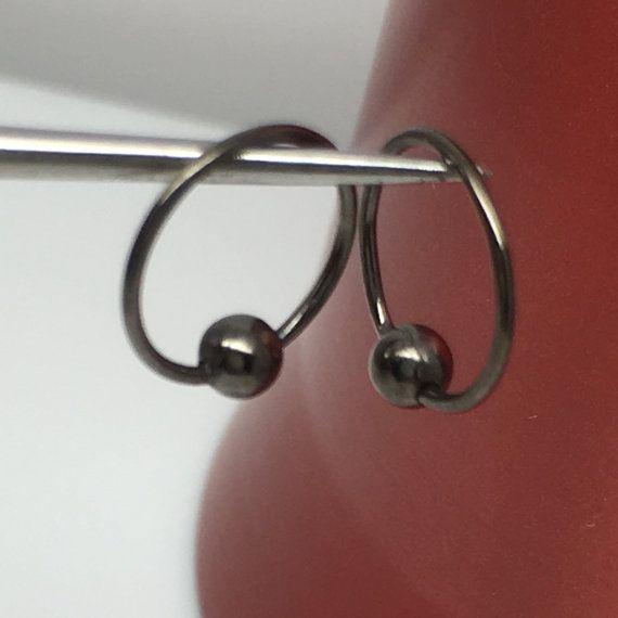 Sfera equilibrato filo orecchini a cerchio orecchini di 360Jewels
