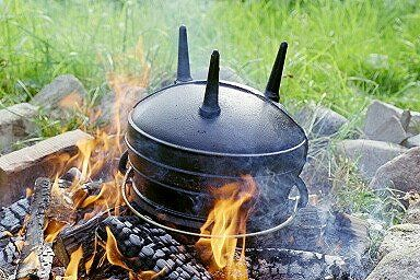#Potjiekos Competitions are one of the most popular #Teambuilding activities at Intundla. We can't help your team win on the day but here are 2 tips to help you be prepared: 1. Make sure you're Potjie is standing on its 3 legs and not upside down! 2. Heat oil in your Potjie until very hot so that you can brown your meat and sear in the juiciness.