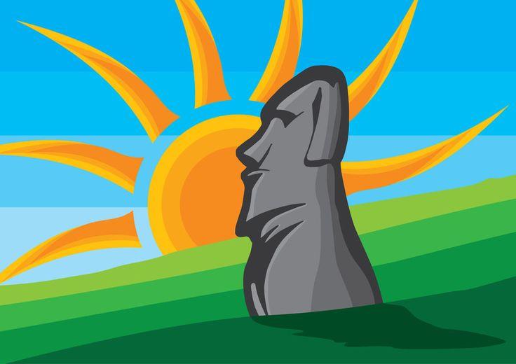 Moai - Easter Island by inspired-imaging.deviantart.com on @DeviantArt