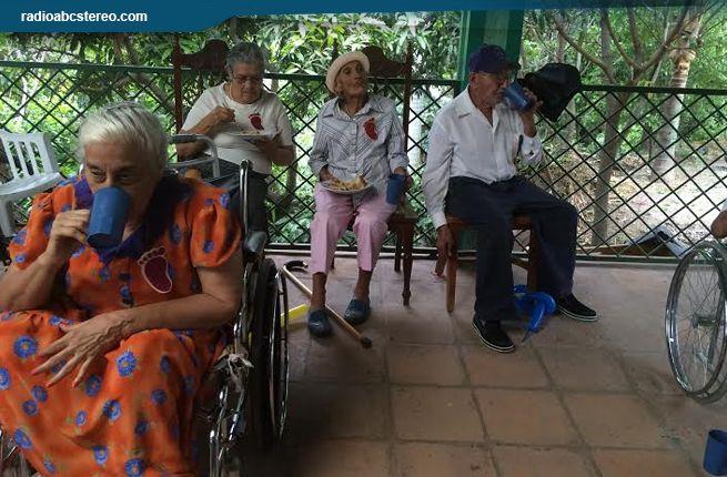 Progreso para  ancianitos y  pobladores de La Trinidad