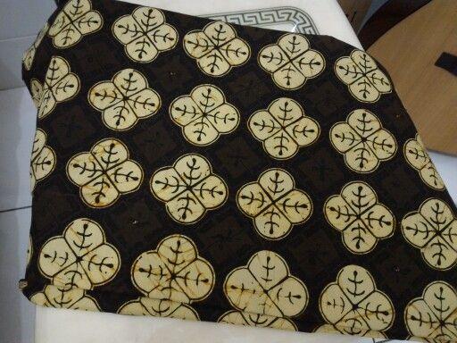 Batik solo cap kain katun